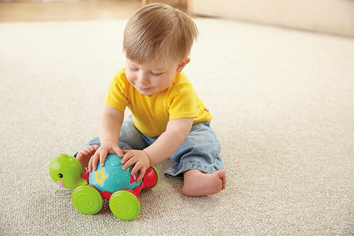 tortuga de aprendizaje - fisher price - first play y8652