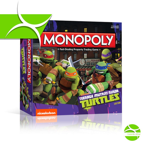 tortugas ninja monopolio ingles