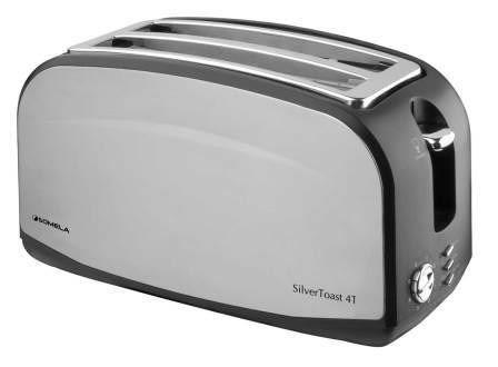tostadora somela st4t silver toast - vía confort