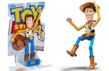 toy story 4 woody articulado original disney -koistore