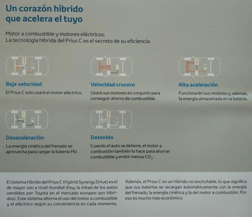 toyota prius 1.5 c hibrido at 2018