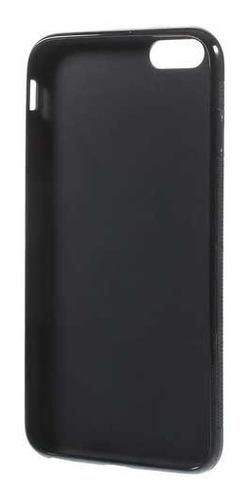 712dd0e2797 Protector Carcaza Tpu Para iPhone 6 Plus - Negro Worldmaster - $ 87 ...