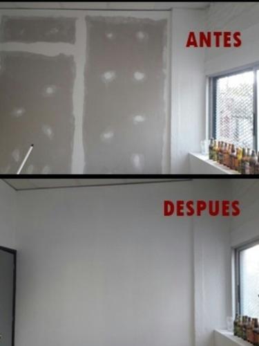 trabajos en albañileria,yeso,isopanel,rejas, pisos flotantes