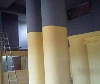 trabajos en yeso pvc y pintura