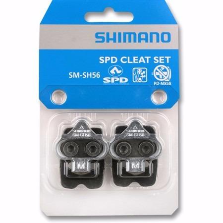 trabas calas shimano sm-sh56 multidireccional bicicleta