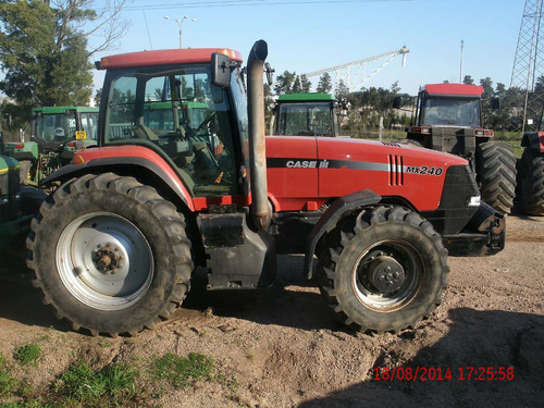 tractor agricola usado case mx 240 e