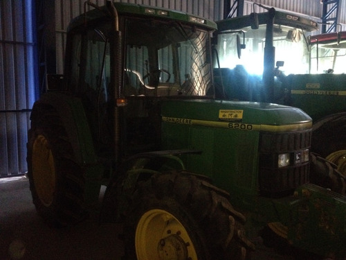 tractor agrícola usado john deere 6200 con pala