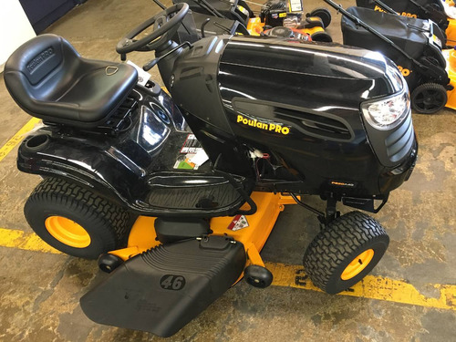 tractor corta pasto - corta cesped poulan 20 hp 115 cm ancho