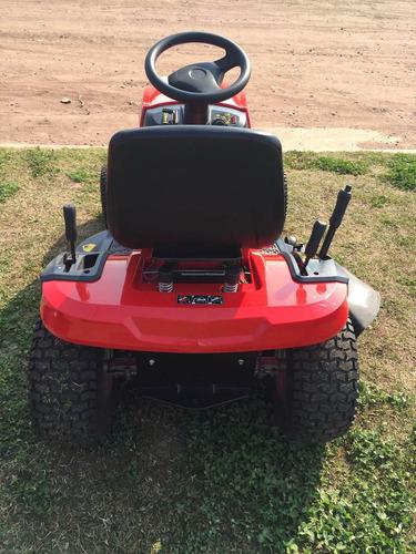 tractor corta pasto roland h108 con motor b&s 17,5 hp 42pulg