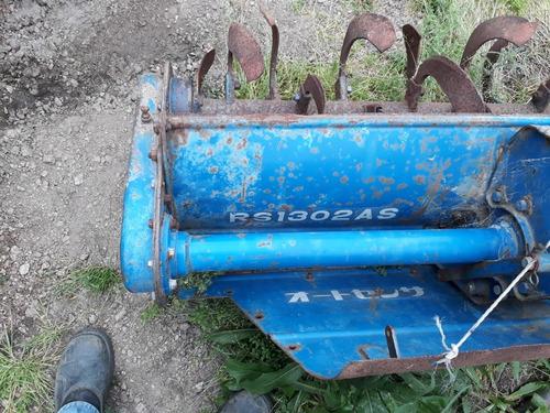 tractor iseki mod.1700  4x2  impec con pastera y retobador