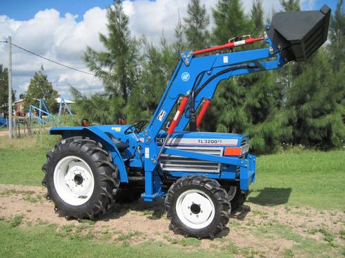 tractor iseki tl 3200 4x4 con pala nueva