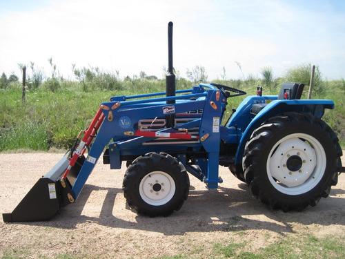 tractor iseki tl2100 4x4 con pala delantera nueva