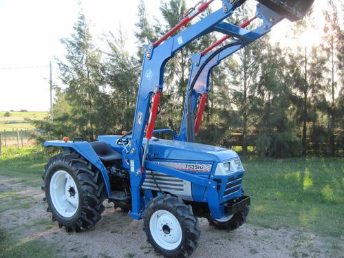 tractor iseki ts35 4x4 con pala nueva