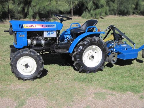 tractor iseki tx 1300 4x4 con chirchera nueva incluida !!!!!