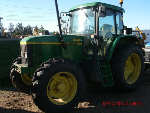 tractor jd 6610