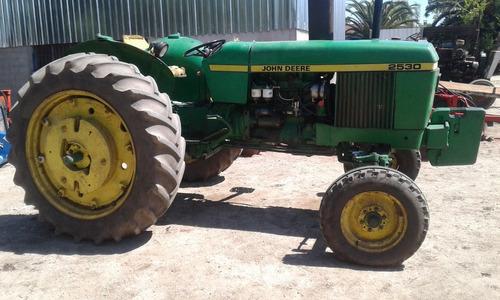 tractor john deere 2530 unico excelente estado