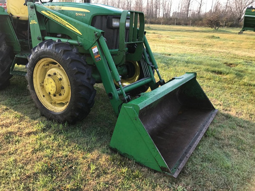tractor john deere 5065 e con pala delantera