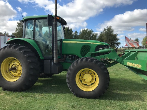 tractor john deere 7515 con topador delantero tbeh