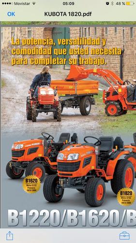 tractor kubota  18 hp  0hs nuevos!!!!