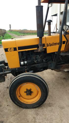 tractor valmet 68 std techo rops dir hidráullica - motor mwm
