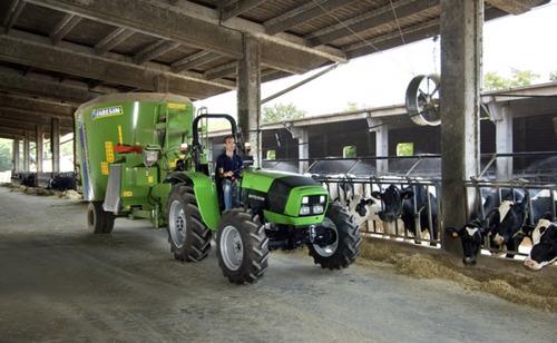 tractores deutz fahr serie agrolux de 50 60 y 80 hp