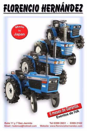 tractores iseki de 15 a 40 hp.