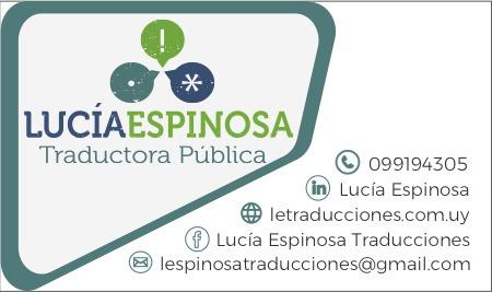 traductora pública inglés - español. canelones / montevideo