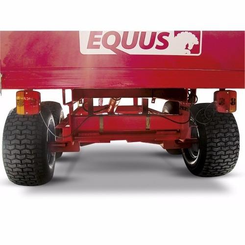 trailer agrícola 2000kg equus