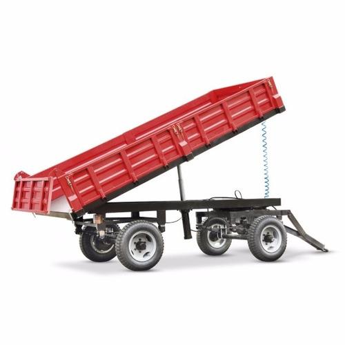 trailer agrícola 4 toneladas equus descarga trasera