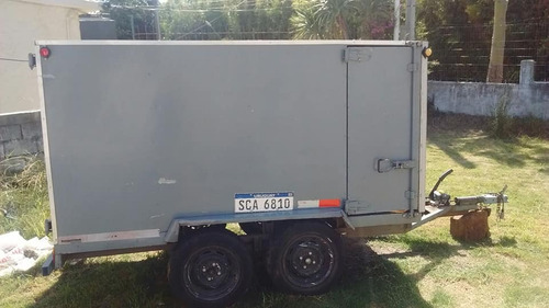 trailer camping trabajo flete