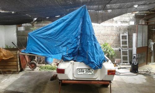 trailer carpa muy facil de armar, con avance, muy barato!!!