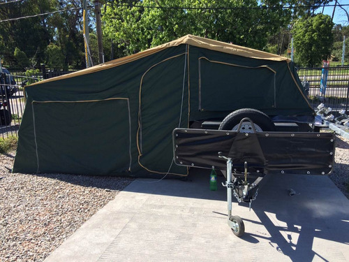 trailer carpa totalmente equipado