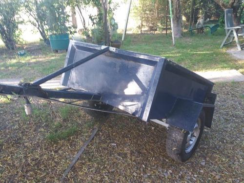 trailer carro carga o camping como nuevos rod 13 y 15 buenos