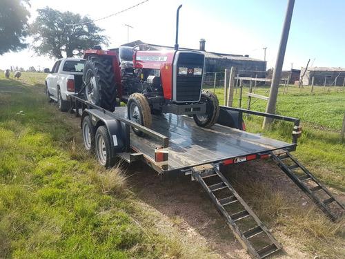 trailer - chata en tandem bison o km
