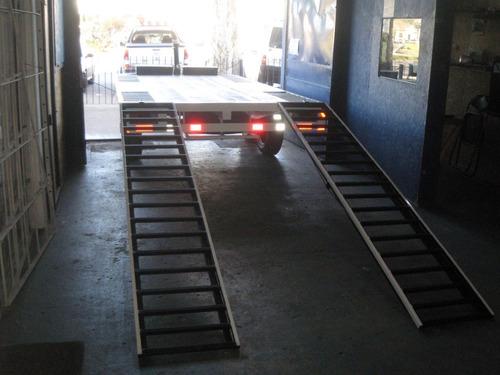 trailer multiuso doble eje para 4000klg