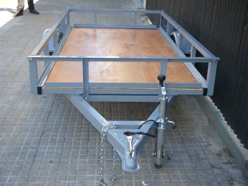 trailer multiuso piso de madera para