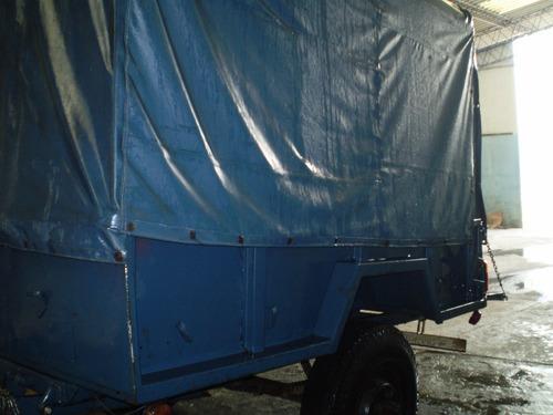 trailer p/ camión habilitado 10.000 kgs c/freno de aire