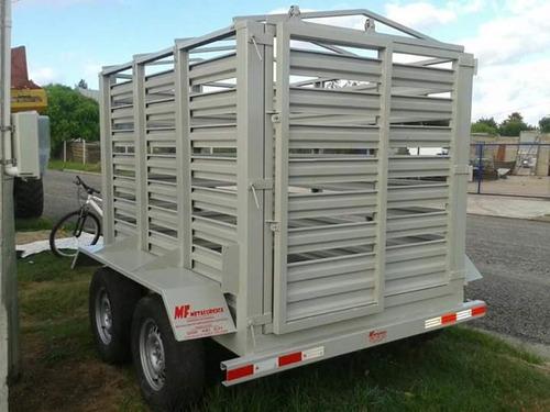 trailer para ganado en general-caballos