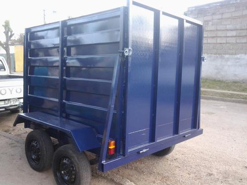 trailer para uno i dos caballos