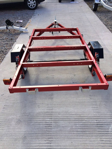 trailer plegable sin piso