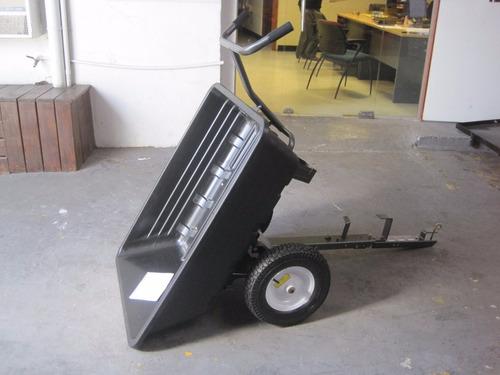 trailer zorra carretilla para cuatriciclo o tractor