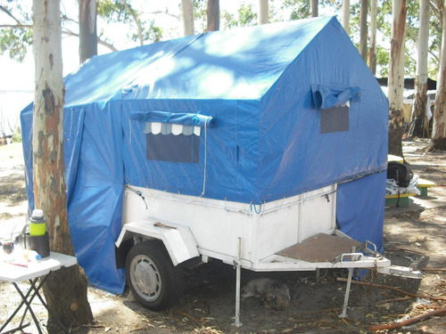 trailers carpa impecable  baño quimico