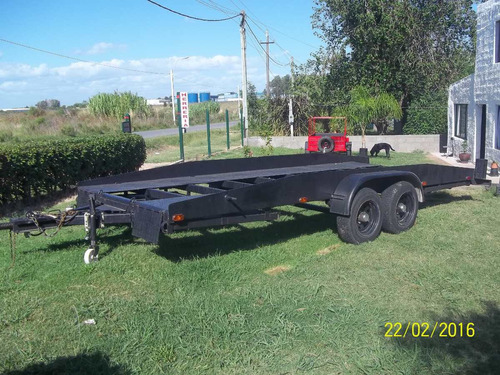 trailers doble eje a medida y enganches
