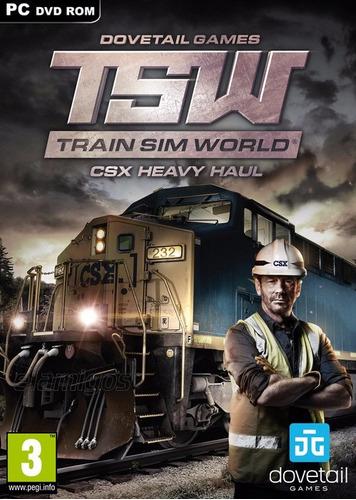 train sim world: csx heavy haul (pc) español
