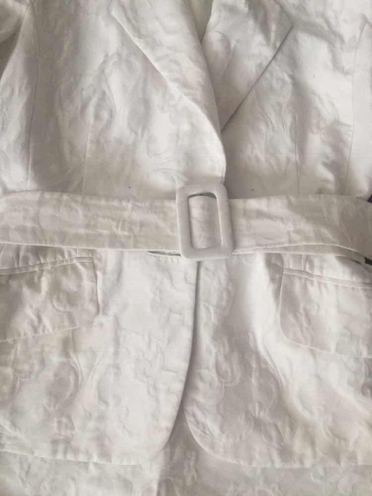 e672108db7f9a mujer blanco Cargando falda zoom brocado italiano traje maska chaqueta  dx0Inq5q