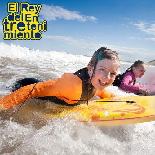 traje neopreno niño natación surf+ set snorkel+ patas el rey