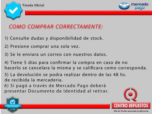 tranca direccion ford fiesta/ecosport/ka 08