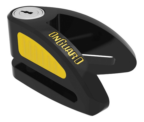 tranca disco bóxer mediano 8mm onguard 8054 c/llaves codif.
