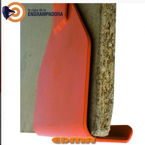 transplac - portaplacas de acero