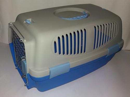 transportador-canil perros y gatos mediana